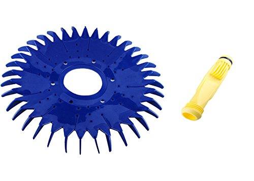 Seal Retaining - Wadoy W69698 Pool Cleaner Diaphragm & W70329 Finned Seal with Retaining Ring W81600 Replacement Zodiac Baracuda G3 G4