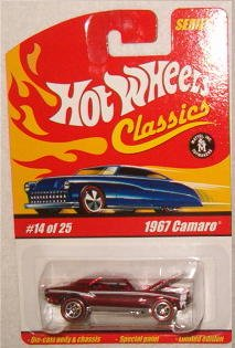 hot wheels camaro 1967 - 4