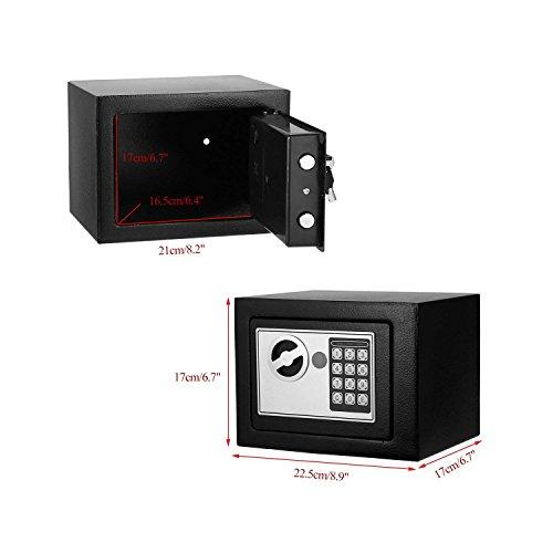 Electronic Steel Digital Safe Security Safe Fireproof Lock Box Keypad Money