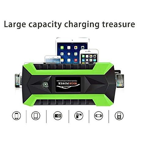 Cargador de batería portátil para coche 89800 mAh, 4 USB ...