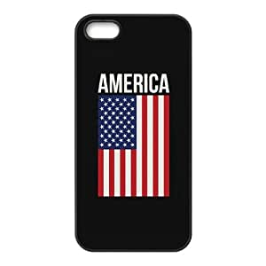 C-Y-F- American Flag Is It Friday Meowy Christmas Merry & Bright Phone Case For iPhone 5,5S [Pattern-5]