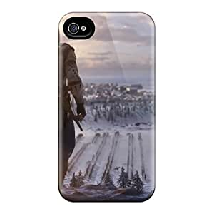 Bumper Cell-phone Hard Covers For Iphone 6 With Custom High Resolution Assassins Creed 3 Image CharlesPoirier