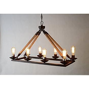 vineyard 6 light metal and wood chandelier. Black Bedroom Furniture Sets. Home Design Ideas