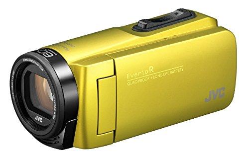 JVCKENWOOD JVC ビデオカメラ Everio R 防水 防塵 32GB内蔵メモリー シトロンイエロー GZ-R480-Y   B07911C5SF