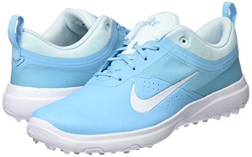 Golf Shoes Women Nike. NIKE Golf Ladies Akamai Shoes, Vivid Sky/White-Glacier Blue, 7 B(M) US #golf