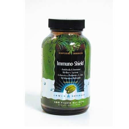 Immuno-Shield - Antibody & Immune Wellness System - 100 Liquid Gel Caps by Irwin Naturals
