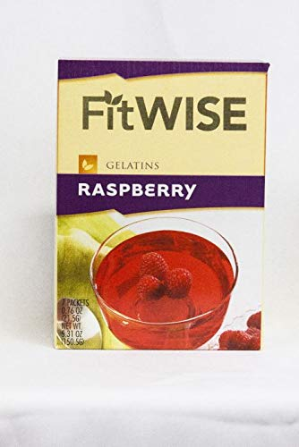 Fit Wise Raspberry Gelatin