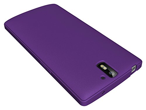 Diztronic Full Matte Purple Flexible TPU Case for OnePlus One - Retail Packaging