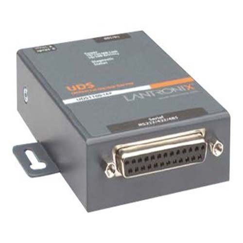 Lantronix Industrial Device Server UDS1100-IAP - Device server - 10Mb LAN, 100Mb LAN, RS-232 - UD1100IA2-01 by Lantronix