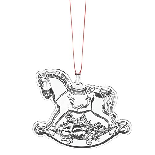 Reed & Barton Francis 1st Rocking Horse Ornament