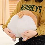 Gold Happy 1pc 38cm36cm Cute Plush Corgi Buttock Pillow Hand Warmer Soft Plush Dog Pillow Cushion Creative Gifts for s and Girls