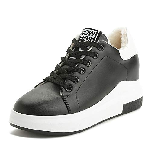 Casual Comfortable Spring SYW Shoes Autumn Black Sports Shoes White Warm Season Cotton Shoes and vwCwq0g