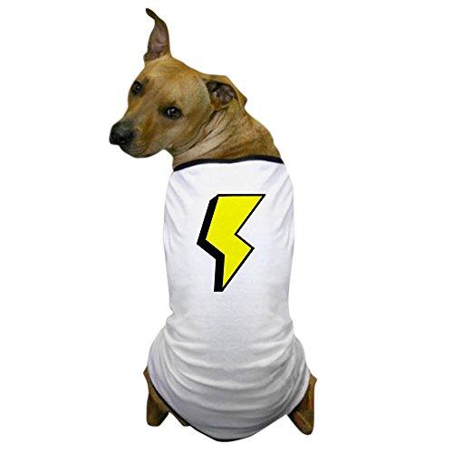 CafePress - 'Lightning Bolt' Dog T-Shirt - Dog T-Shirt, Pet Clothing, Funny Dog Costume