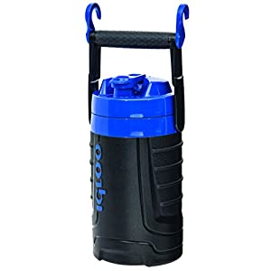 Igloo 1/2 gallon Insulated Hydration Jug, Majestic Blue/Black, 64 oz
