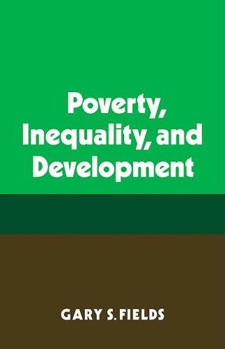 Poverty, Inequality, and Development