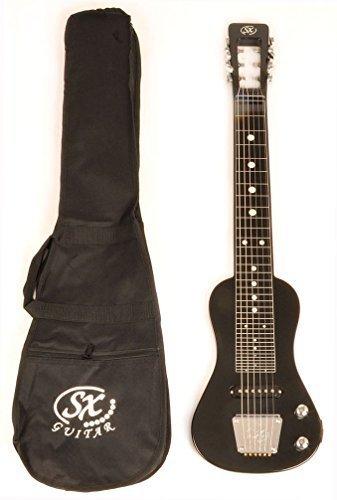 Rondo Guitar Music (SX LAP 3 Black Lap Steel Guitar w/Free Carry Bag)
