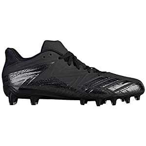 adidas Men's Freak X Carbon Low Football Cleats (12, Core Black/Core Black)