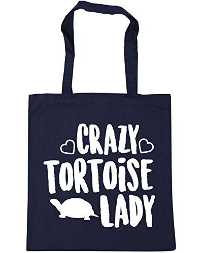 Beach HippoWarehouse x38cm litres 10 Navy tortoise 42cm Gym Crazy Shopping French Tote lady Bag YYp1q