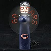 Chicago Bears NFL Licensed Hand Held LED Light Up Fan