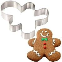 Ginger Adam Desenli Metal Kek Kurabiye Şeker Hamuru Kopat Kalıbı 1 Adet