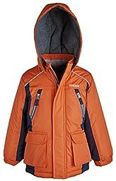 Osh Kosh Baby Boys\' Heavyweight Single Jacket, Orange, 12 Months