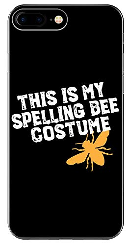This is My Spelling Bee Costume Funny Beekeeping Art for Halloween Apairist - Phone Case for iPhone 6+, 6S+, 7+, 8+