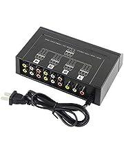 RCA Audio Video Splitter Amplifier for TV Box HDTV DVD - 9AFAV1X4