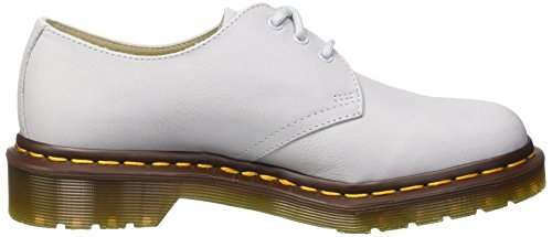 Dr. Martens 1461 Virginia Ivory - Zapatos Derby Mujer Bianco (Blue Moon)