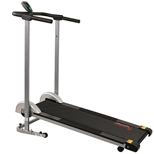 Sunny Health & Fitness SF-T1407M Manual Walking Treadmill, Gray by Sunny Health & Fitness (Image #8)
