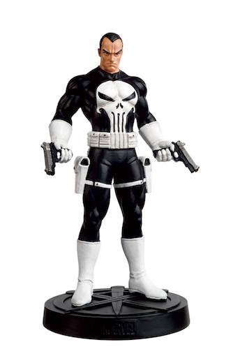 Marvel Avengers Fact Files Special Punisher Statue with Coll