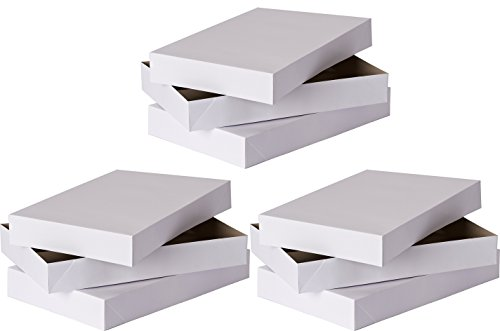 Family Place Shirt Gift Boxes (Pack of 6), White]()