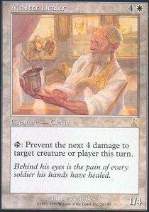 Magic: the Gathering - Master Healer - Urza's (Master Healer)