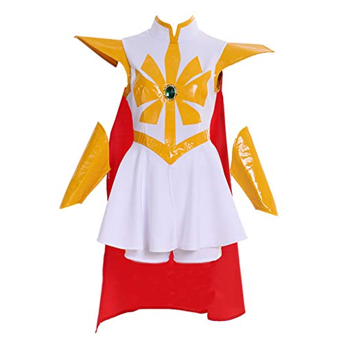 (DUNHAO COS Women's Anime She-Ra: Princess of Power Adora Cosplay Costume M)