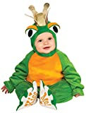 Rubie's Costume Cuddly Jungle Frog Romper Prince Costume, Green, 6-12 Months