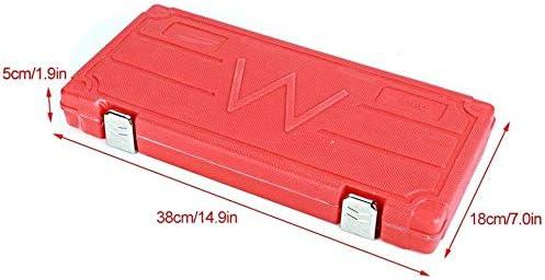 El kit Combination Remove Broken Screws Bolts 131 piezas Reparaci/ón de roscas juego de reparaci/ón de roscas para roscas Tap