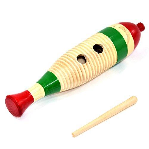 遠藤商事 Ethnic Percussion Instrument Scraper Funny Fun Easy Banquet Easy Karaoke, Pre-Sharpened Concert