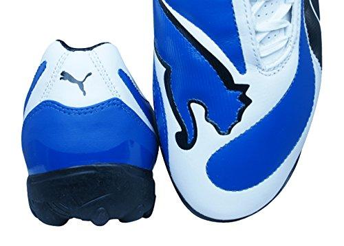 Puma V3.08 Tt Da Uomo In Pelle Astro Turf Calcio Sneakers Blu