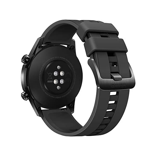 41M kBPYeeL HUAWEI Watch GT 2 Sport (Matte Black, 46mm, 2 Weeks Battery, Music Playback, Answer Calls (with Phone Connection), 5ATM…