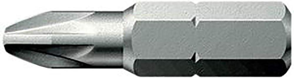 Bit 1//4 DIN 3126 C 6,3 PZ 2x25mm z/ähhart FORMAT