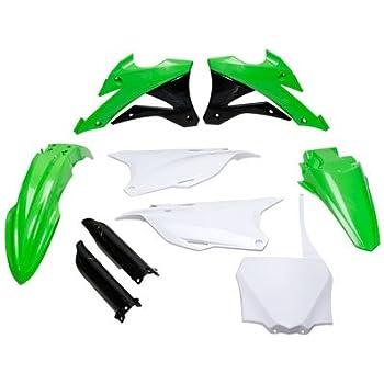 Polisport Complete Replica Plastic Kit Green for Kawasaki KX250 1999-2002