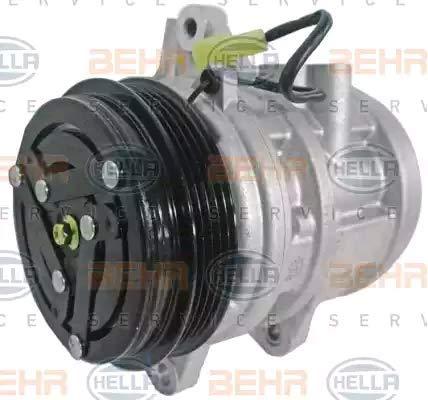 BEHR HELLA SERVICE 8FK 351 106-361 *** PREMIUM LINE *** Compresor, aire acondicionado: Amazon.es: Coche y moto
