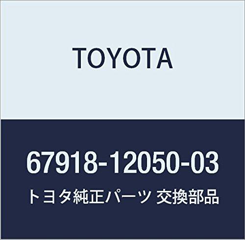 TOYOTA Genuine 67918-12050-03 Door Scuff Plate
