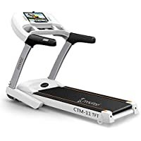 Cockatoo CTM11TFT 3.5 HP Peak Motorised Treadmill with Manual Incline & Auto Lubrication(Free Installation Assistance)
