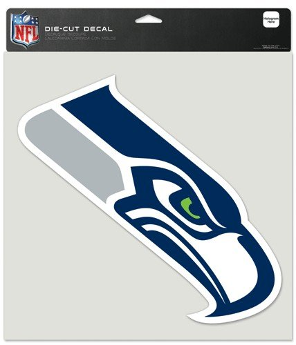 Seattle Seahawks NFL Die-Cut Decal - 8