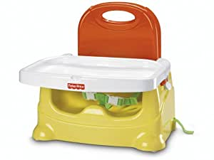 Fisher-Price Healthy Care Booster Seat, Yellow and Orange (Discontinued by Manufacturer)