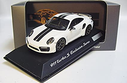 Spark Spark 1/43 Porsche 911 (991) Turbo S white / black custom