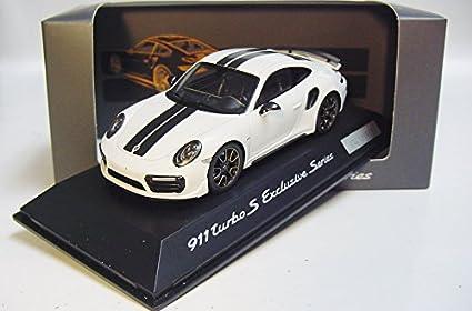 Spark Spark 1/43 Porsche 911 (991) Turbo S white / black custom
