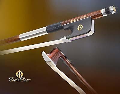 CodaBow Diamond GX Carbon Fiber Viola Bow