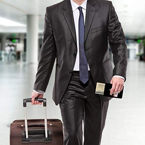 レッド・ツェッペリン パスポートケース メンズ レディース パスポートカバー パスポートバッグ 携帯便利 シンプル ポーチ 5.5インチ PUレザー スキミング防止 安全な海外旅行用 小型 軽便