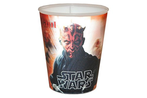 Star Wars 3en 1–Gobelet/Gobelet/malbe ergonomique–Gobelet verre verre avec image changeante Kinder-Land